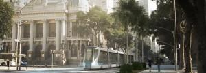 Apresentação VLT (veiculo leve sobre trilhos) para o Rio de Janeiro
