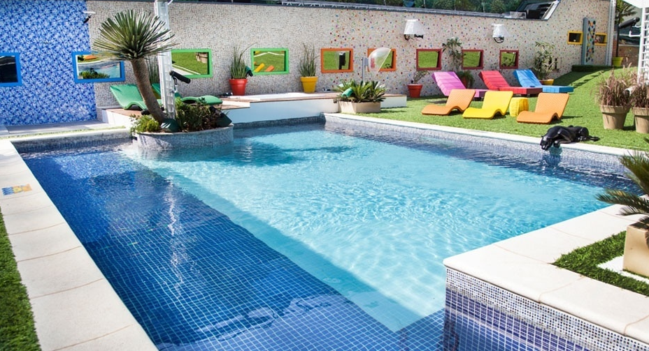 Casa BBB 14 area de piscina piscina