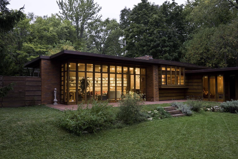 Jacob´s House foi a primeira casa Usoniana, construída em 1936.