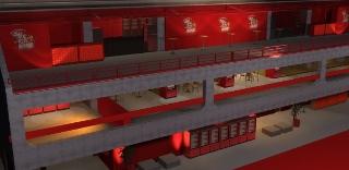 Com essa reforma, o Camarote da Brahma teve seu espaço diminuído, e reorganizado. O benefício foram os tres andares de camarote, com um grande espaço ao ar livre para poder ver melhor as escolas de samba.