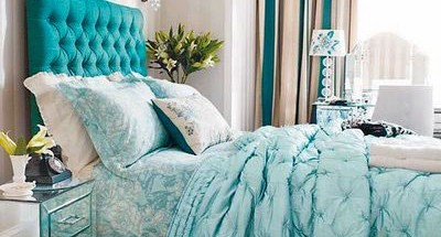 Tiffany color in decoration