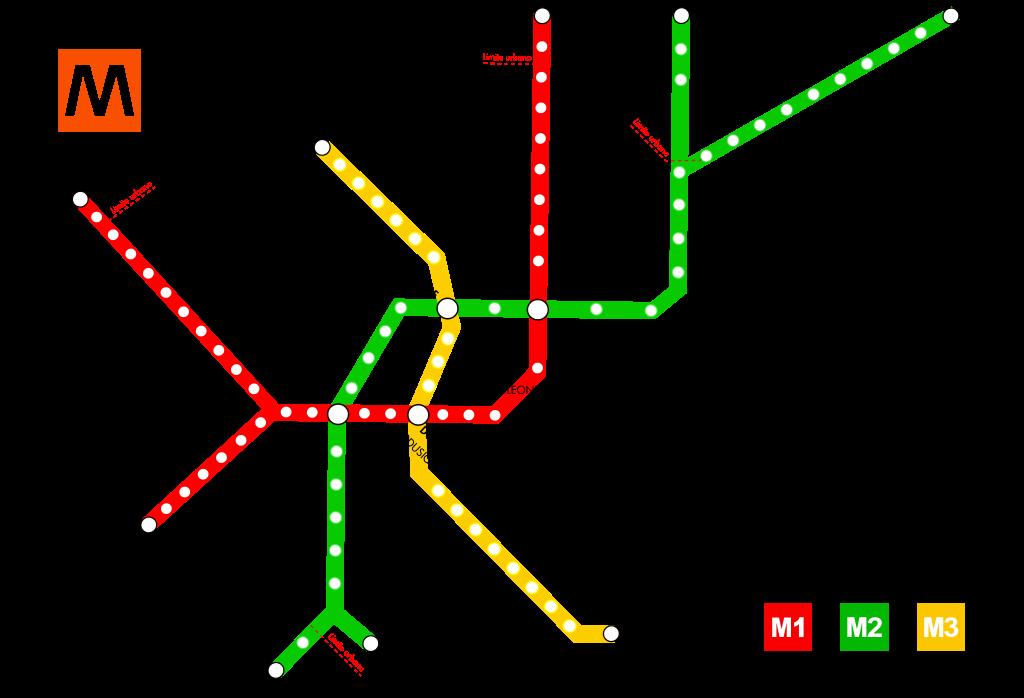 Mapa do metro de Milão