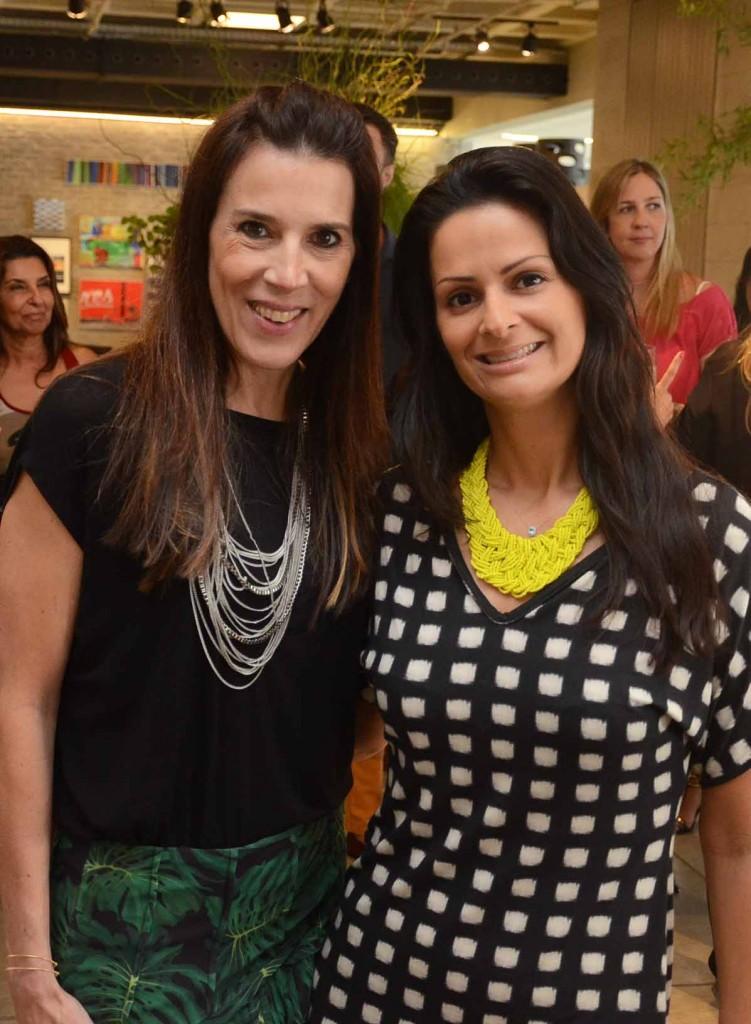 Claudia Souza Santos e Sandra Strauss