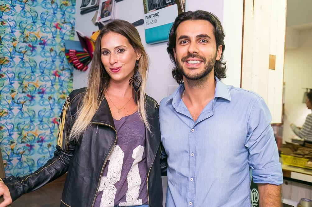 Anny Meisler e Arthur Fernandes