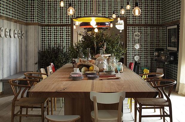 Esther Giobbi projetou uma Sala de Almoço super aconchegante.