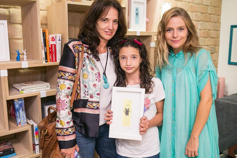 Dea Arbex, Nina Neubert e Vitoria Frate