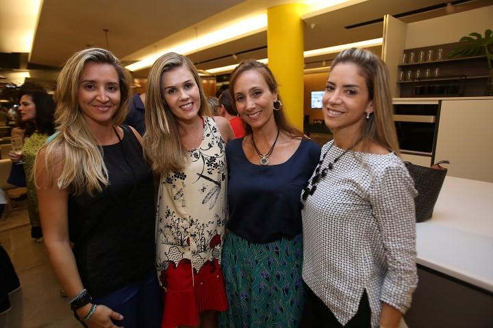 Gabriela Eloy, Juliana Neves de Castro, Luciana Nasajon e Tatiana Mendes