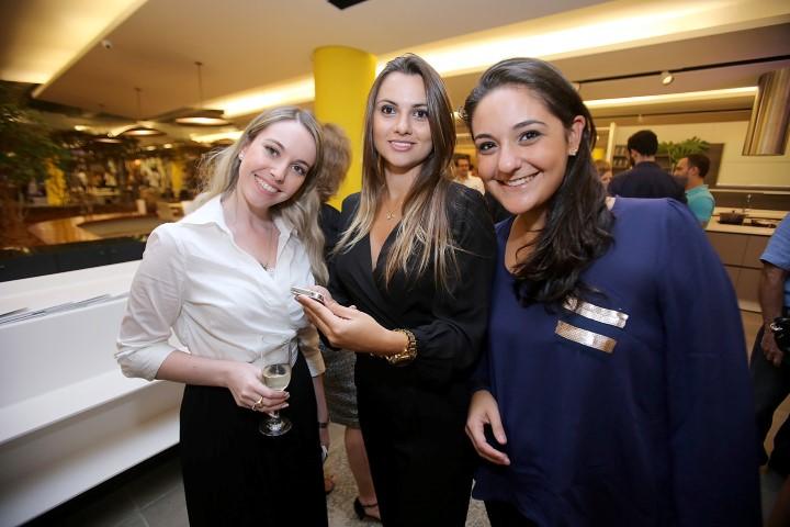 Jessica Marques, Christiane Sausmikat e Juliana Castro