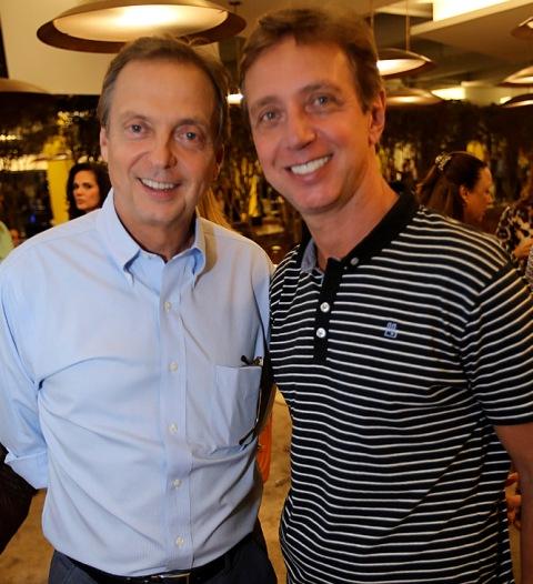 Luiz Fernando e Beto Grabowsky