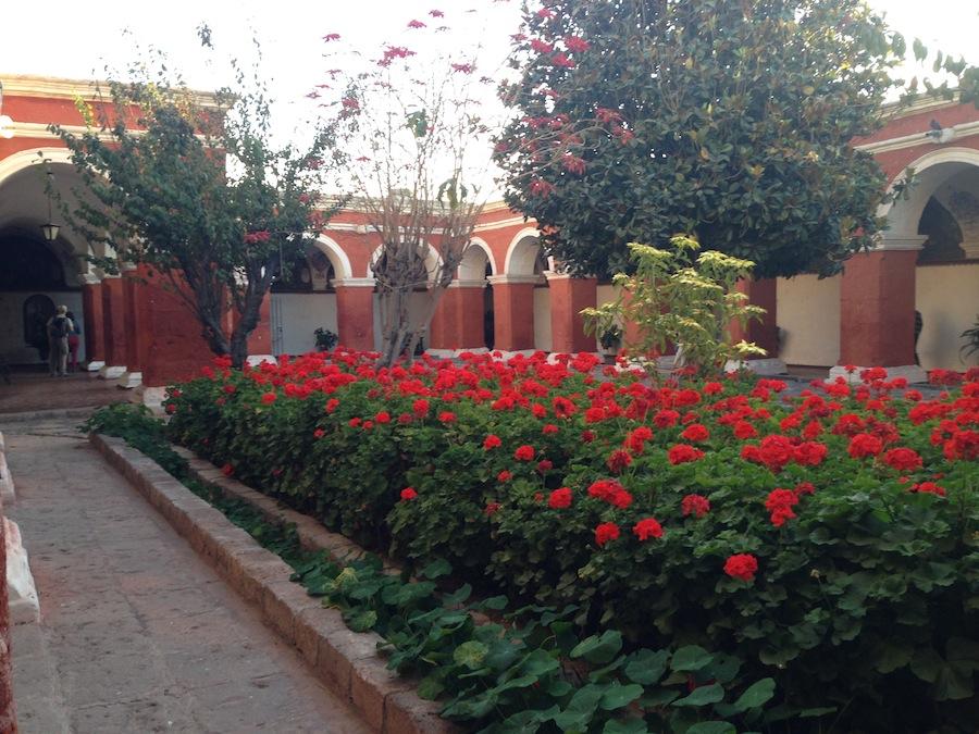 Patio do Mosteiro Santa Catalina