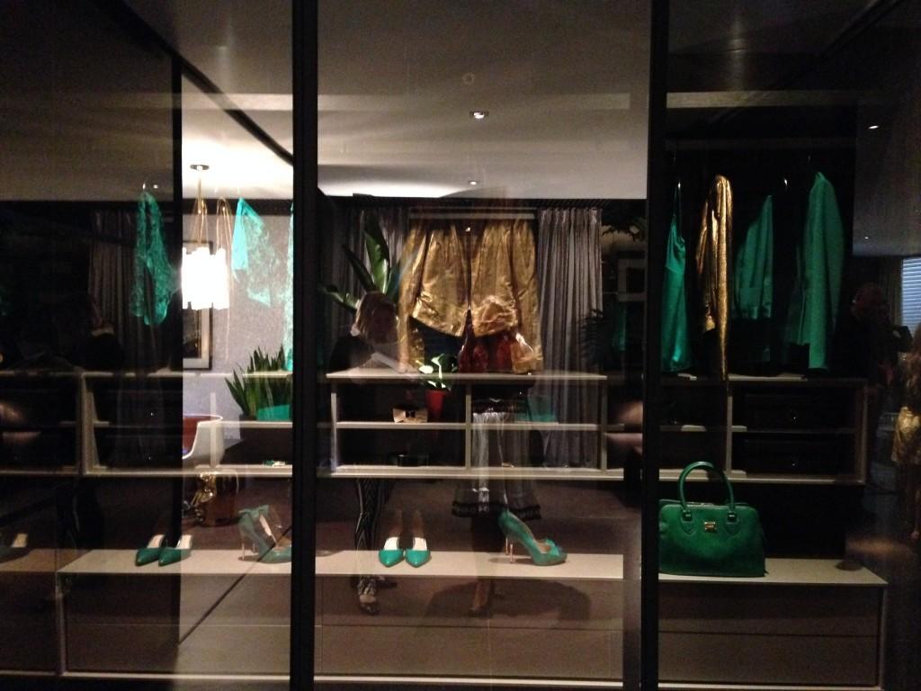 O Closet de Brunete Fraccaroli preparado para a Copa no Casa Cor SP 2014!