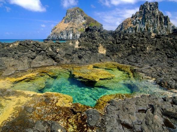 Piscina natural.  Natural pool.