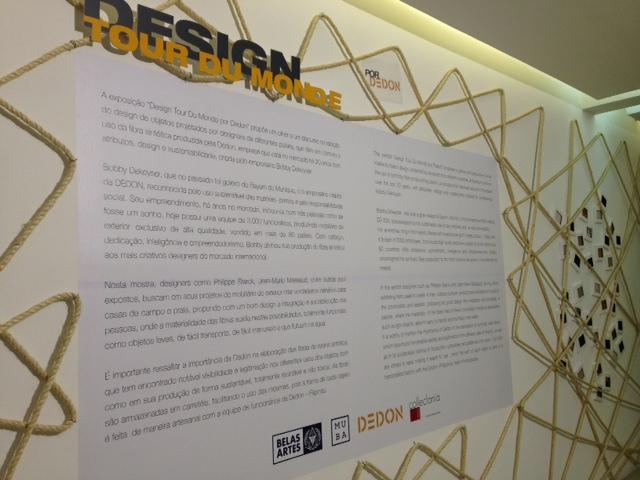 Design - Tour de Monde em exposição no MUBA