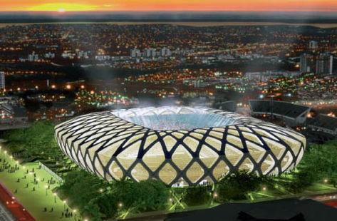 Arenas de batalha: 12 estádios anfitriões da Copa 2014