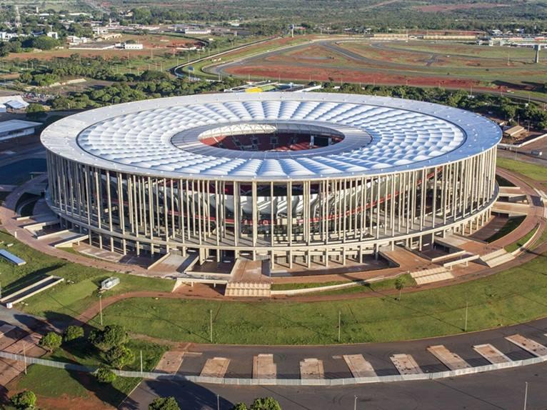 Estadio Mane Garrincha. Brasilia