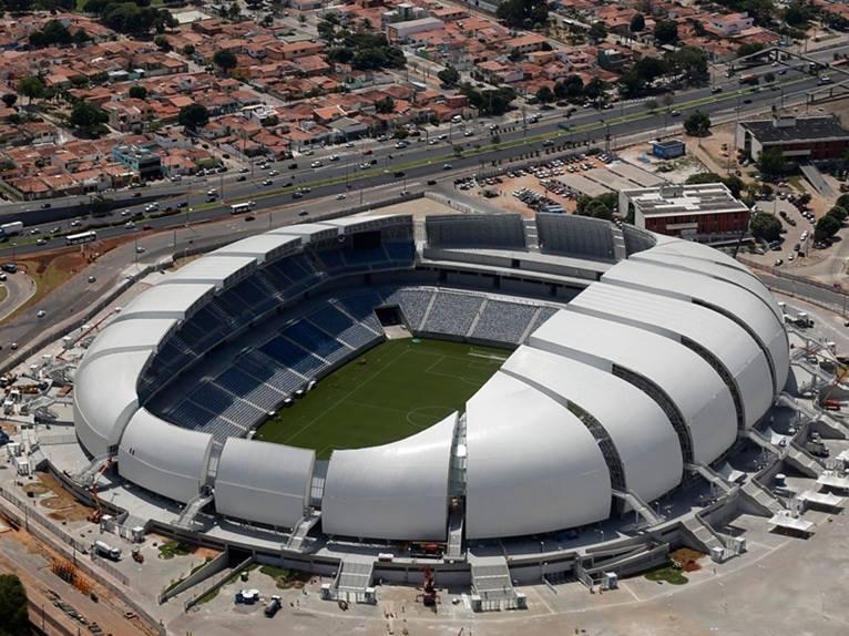 Estadio das Dunas. Natal