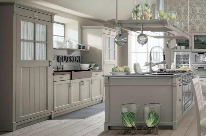 Por fim a cozinha Country  - no estilo rústico francês - da Minacciolo mostra que este estilo pode ser elegante, clean e atual.