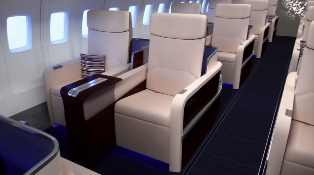 First Class sits only