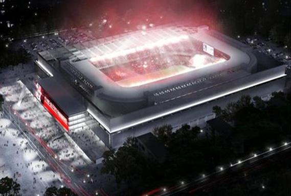 Estádio Joaquim Américo, conhecido como Arena da Baixada, em Curitiba – PR