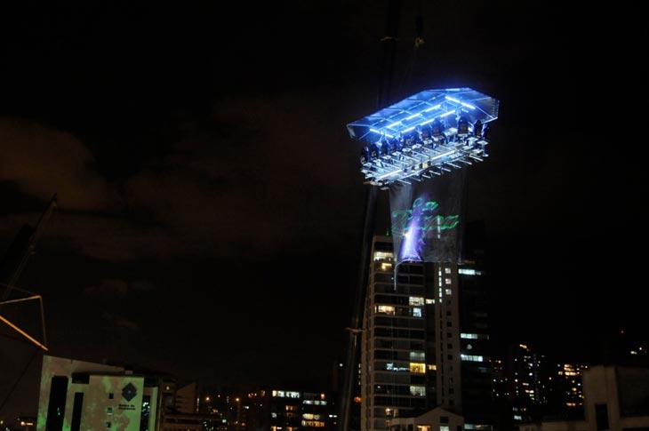 Dinner in the Sky in Sao Paulo
