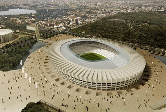 Estádio Mineirão, em Belo Horizonte – MG