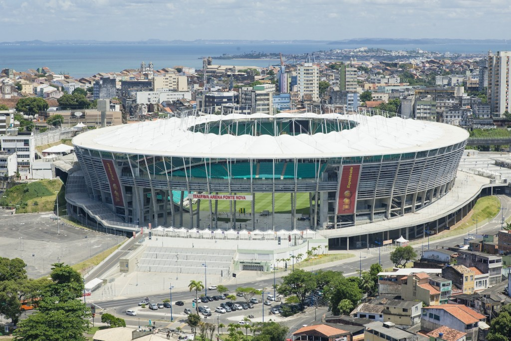 Estádio Octávio Mangabeira, a arena Fonte Nova em Salvador – BA