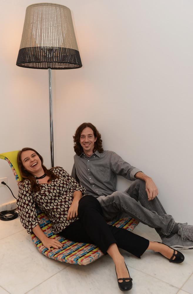 Fernanda Bessone e Raul Moras