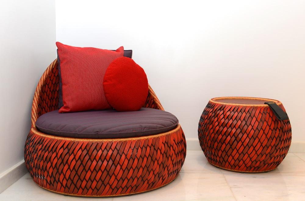 Grandes marcas de luxo, como a Dedon, reciclam materiais para transforma-los em grandes itens de design, como a linha DALA idealizada por Stephen Burks