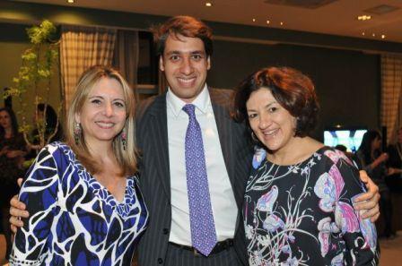 Grace Cozman, Luciano Montenegro e a querida Marcia Dadamos