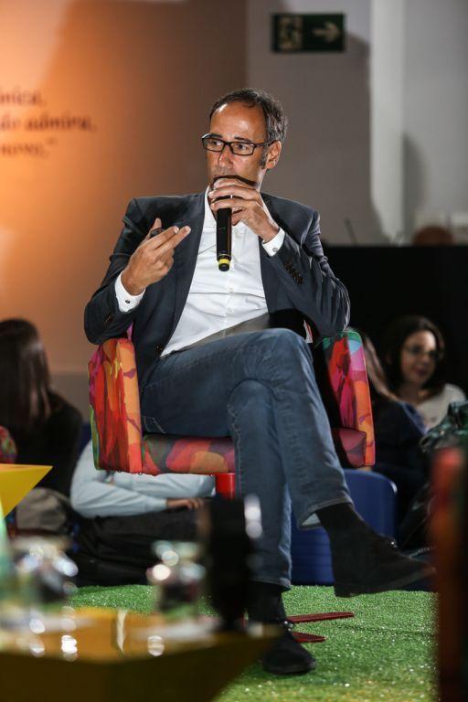 Michel na palestra sobre Cores no Design - Centro Universitário Belas Artes