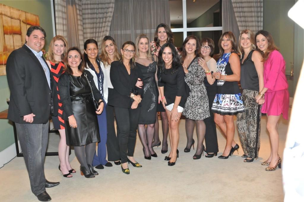 Os premiados na Suite Presidencial do Sheraton WTC
