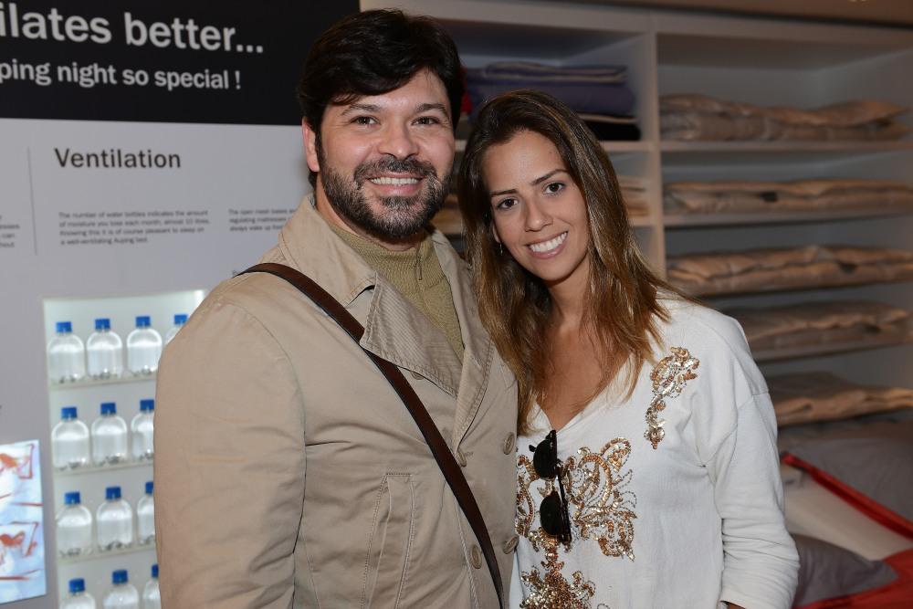 Thoni Litsz e Lorena Couto