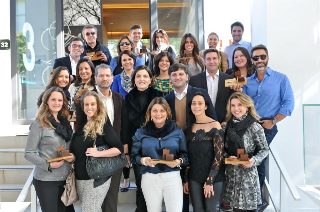 Premiados pelo programa de relacionamento da Orlean: Visionaire! A premiação foi no dia 4 de junho no Casa Cor de São Paulo. A contagem para o próximo premio já está rolando desde então!