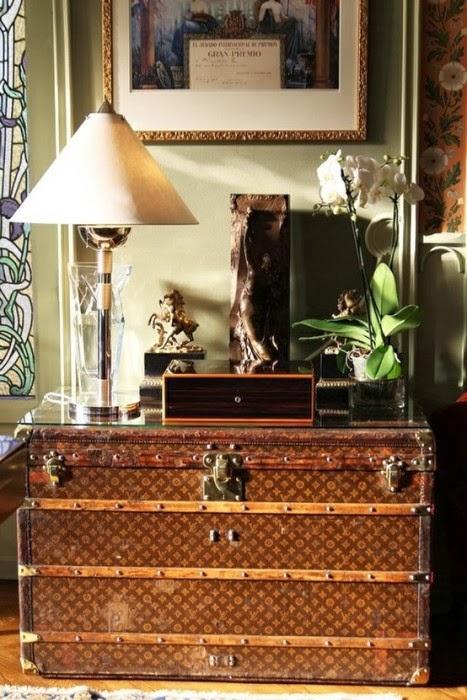 Uma luis Vuitton como parte da tua casa!