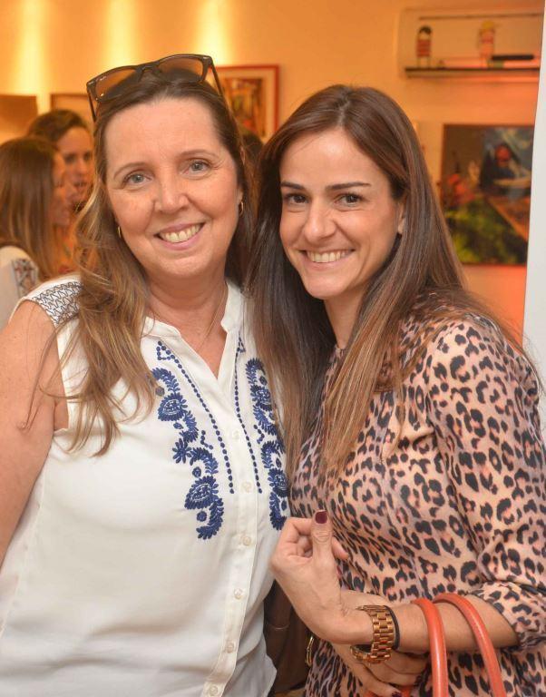Carla Sobreira e Flavia Lucas
