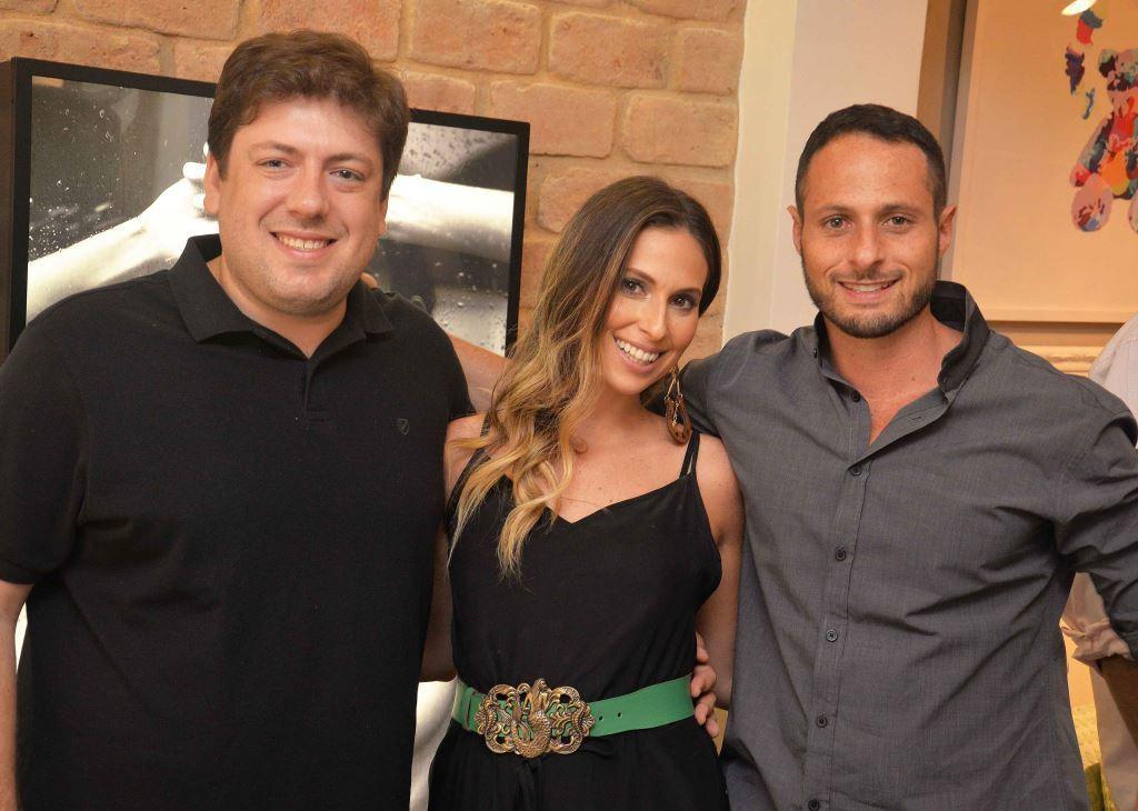 oao Ricardo, Anny Meisler e Luiz Felipe Burdman  - LZ Team
