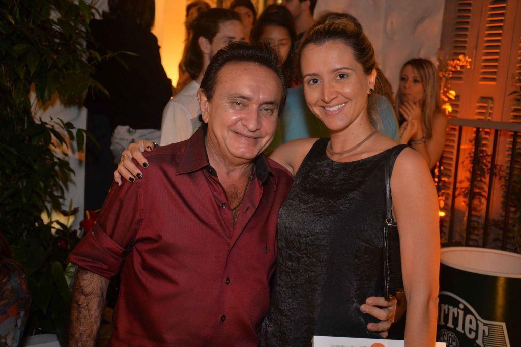 Os arquitetos Maranhao e Gabriela Eloy
