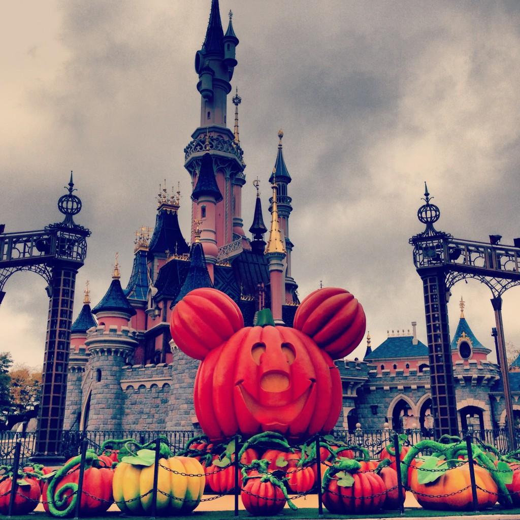 Mickey cabeça de abóbora!