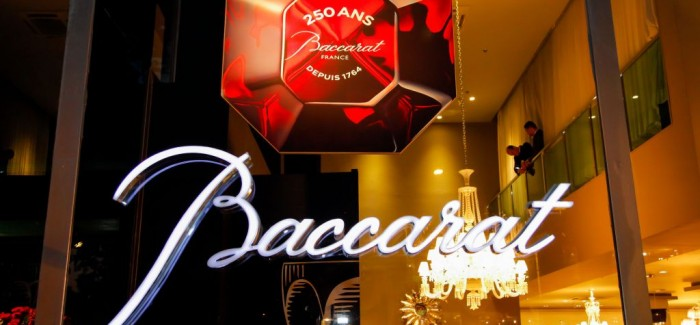 Last Seen: Baccarat 250 anos!