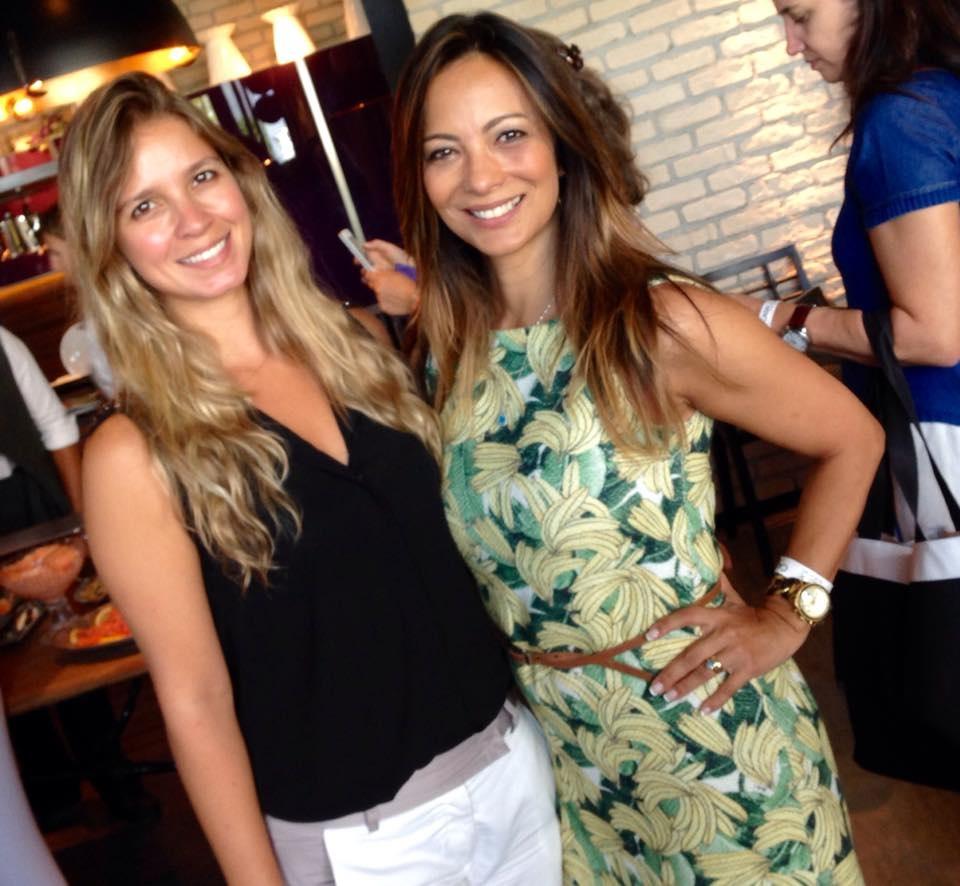 Eu e minha irmã, Marcia Romão