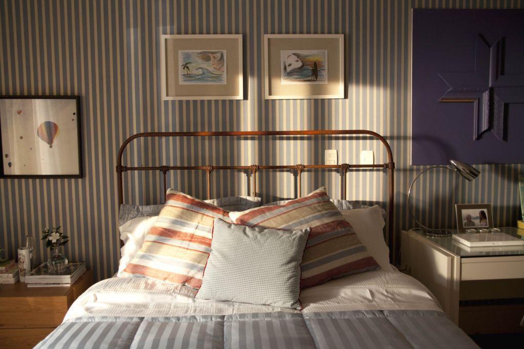 Adoro estas camas industriais em cobre.