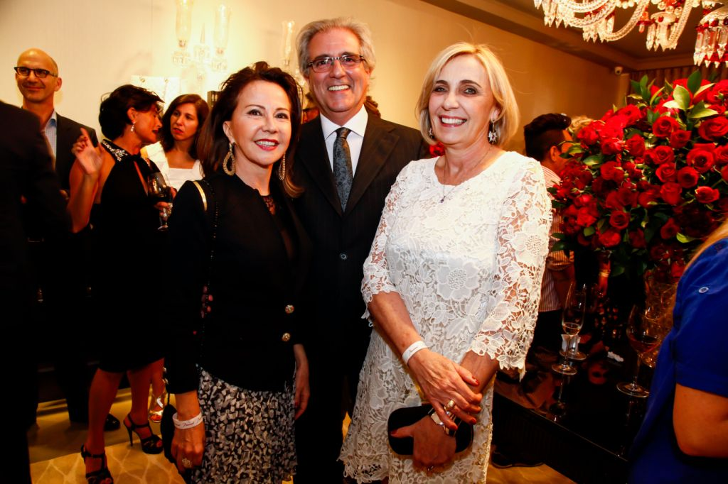 Jaci Toffano, Miguel Salles e Lucy Rossi