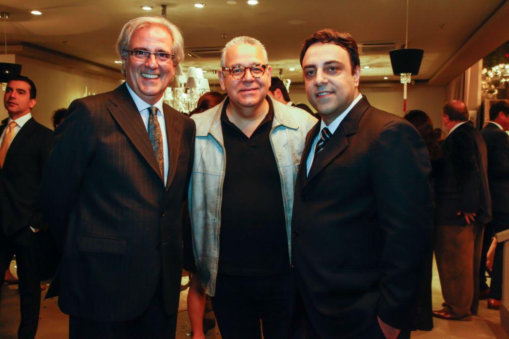 Miguel Salles, Ricardo Rossi e Luiz Claudio Bez