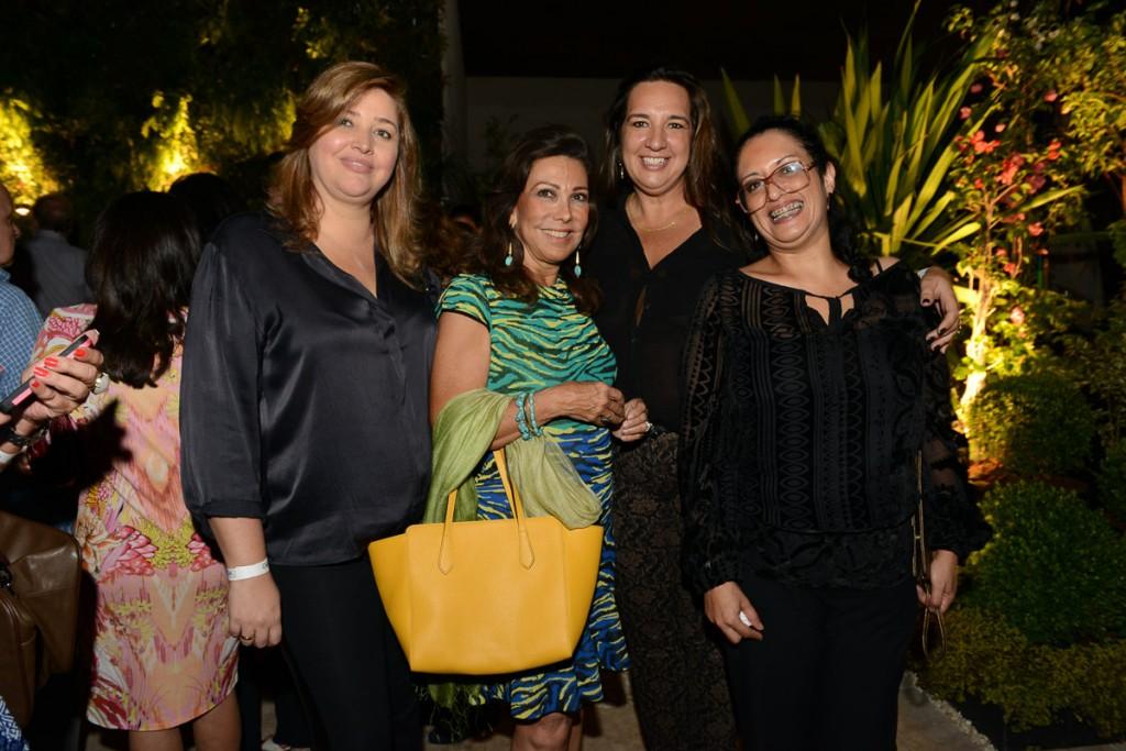 Andrea Zeitung, Anna Rothier, Andrea Barreto e Monica de Luca.