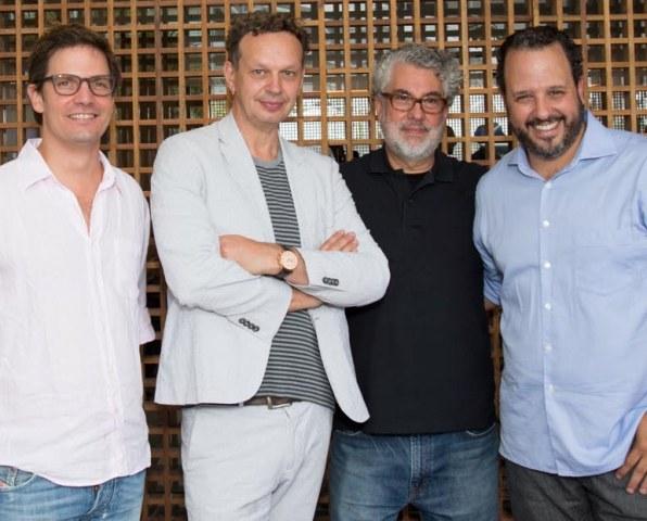 Ricardo Gutfreund, Tom Dixon, Marcio Kogan e Fernando Prado
