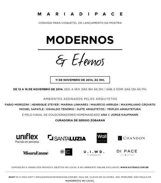 MODERNOS E ETERNOS