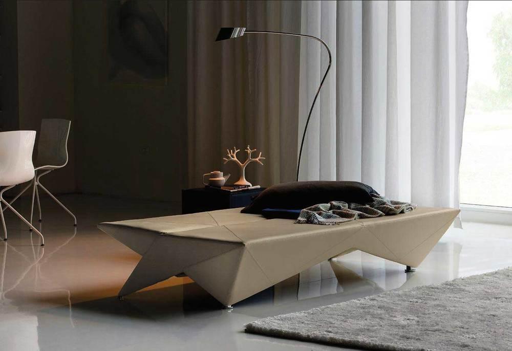 Sofa da Cattelan Italia com design de Andrea Lucatello, inspirado nas dobraduras do origami