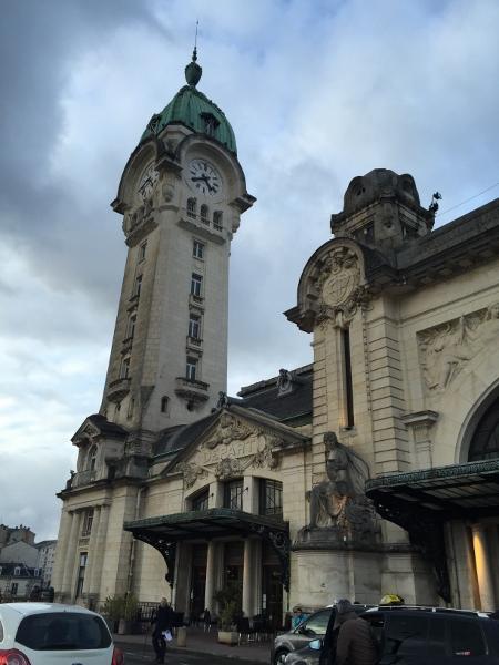 A Gare de Limoges, eleita uma das 10 estações de trem mais bonitas do mundo.