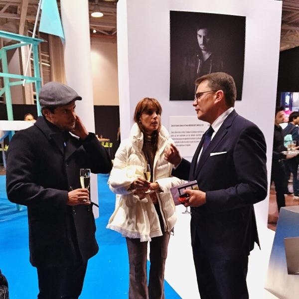 Zanini, Roberta Queiroz da Velvet Design e Féderick Bogarde