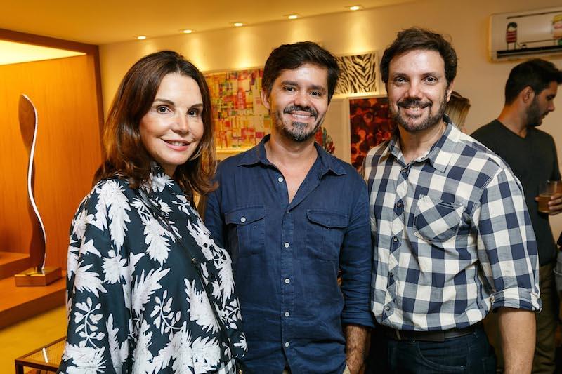 PATRICIA MAYER, RICARDO MELO E MARIO SANTOS